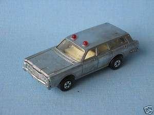 Lesney Matchbox Mercury Police Car Bare Pre Pro RARE