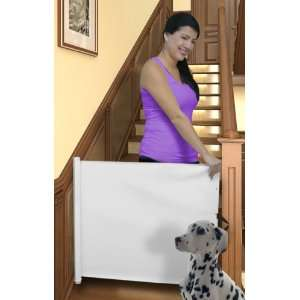 RETRACTABLE PET/BABY GATE   EXPANDS TO 45W Baby