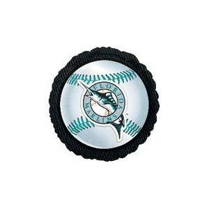 18 MLB Florida Marlins Baseball Balloon   Mylar Balloon