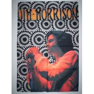 DOORS JIM MORRISON 42x30 Inches Cloth Textile Fabric