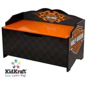 harley davidson flames toy box