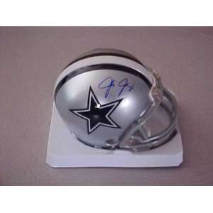 Julius Jones Hand Signed Autographed Dallas Cowboys Riddell Football