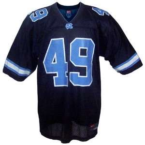 Nike North Carolina Tar Heels (UNC) #49 Black Alternate