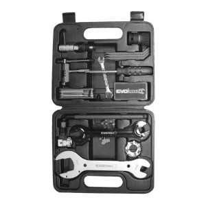 Evo Ev P18 Tool Box   18 Tools, Black Handles Sports