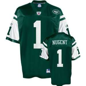 Mike Nugent Green Reebok NFL New York Jets Toddler Jersey