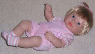 NIB Adorable 13 Girl Baby Doll with Hair