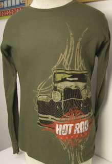 Long Sleeve Thermal Tee GRIM REAPER by HOT ROD magazine