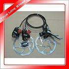 Bike Cycling 2012 Avid Elixir 5 Hydraulic Disc Brakes HS1 Rotor Black