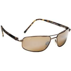 com Maui Jim Kahuna 162 Sunglasses, Copper / Bronze Lens, Sunglasses