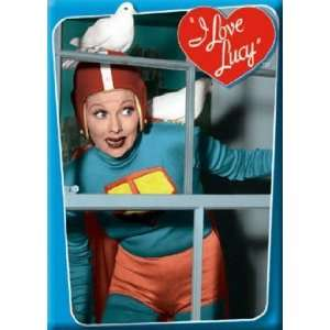 I Love Lucy Lucy As Superman Magnet 25200LU Toys & Games