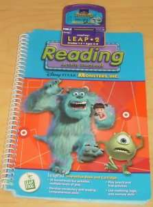 Leap Frog LeapPad Monsters, Inc Book & Cartridge