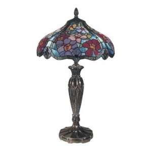 Dale Tiffany Linette Tiffany Table Lamp in Fieldstone