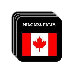 Canada   NIAGARA FALLS Set of 4 Mini Mousepad Coasters
