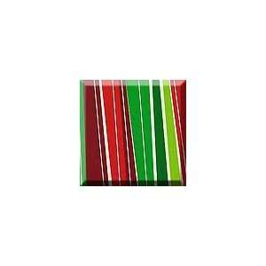 1ea   24 X 100 Holiday Stripe Gift Wrap Health