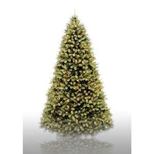 9 Prelit Douglas Fir Artificial Christmas Tree with Clear