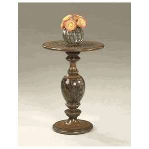 Butler Inaly Fossil Stone Top Accent Table Furniture