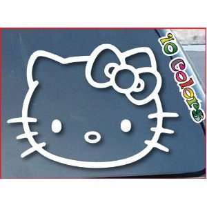 Hello Kitty Car Window Vinyl Decal Sticker 8 Wide (Color