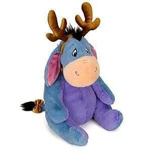 Large Eeyore Holiday Plush Reindeer 27