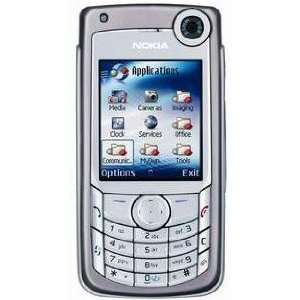 NOKIA 6680 UNLOCKED SILVER CAMERA BLUETOOTH CELL PHONE Cell Phones