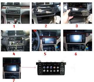 Special 7 inch In Dash Car DVD GPS For BMW 3 Series E46 With Stereo