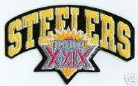 Pittsburgh Steelers Super Bowl XXIX NFL Football Patch