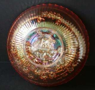 Carnival Glass Bowl  Windmill by Imperial Glass