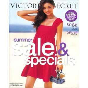 Victorias Secret Catalog   Summer Sale & Specials 2008