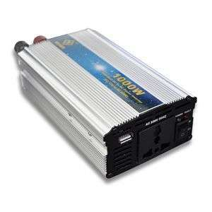 New High Quality 220V 1000W USB Car Power Inverter DC to AC New