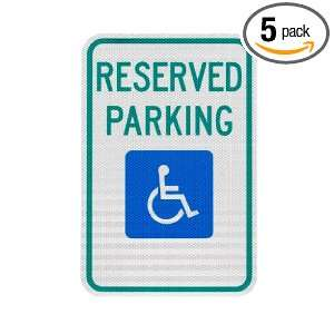 Elderlee, Inc. 9012.78005 Handicapped Parking Sign, Reserved Parking