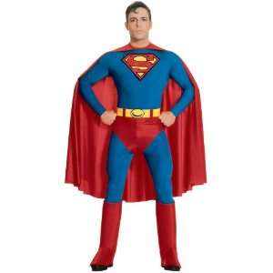 Lets Party By Rubies Costumes Superman Adult XL Costume / Red   Size X