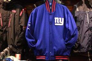 New York Giants First Down Wool Jacket Officially licensed by NFL