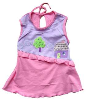 Piece NWT baby girl kids Cotton Dress Clothes 0 3M A3