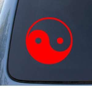 YIN & YANG   Asian   Car, Truck, Notebook, Vinyl Decal Sticker #1040