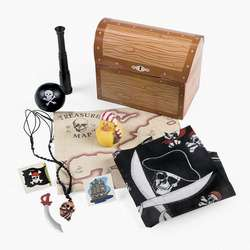 FILLED PIRATE TREASURE CHEST TREAT BOXES/Party Favor/Birthday Supply