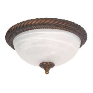 Nuvo Lighting Semi Flush 60 027 Tet A Tet Traditional Close to Ceiling