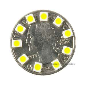 100PCS 3528 PLCC 2 SMD SMT LED 1300MCD white