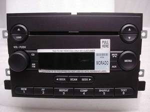 06 FORD Fusion F150 Mustang Radio 6 Disc CD Changer Player AUX