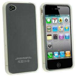 TPU Rubber Skin Case for Apple iPhone 4