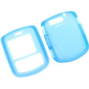 Light Blue Silicone Skin Cover Case For Verizon Wireless