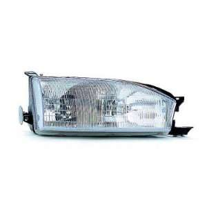 94 TOYOTA CAMRY HEADLIGHT ASSEMBLY, PASSENGER SIDE   DOT Certified