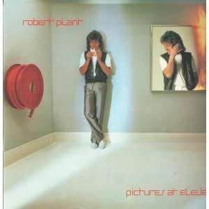 PICTURES AT ELEVEN LP (VINYL) UK SWAN SONG 1982 ROBERT PLANT Music