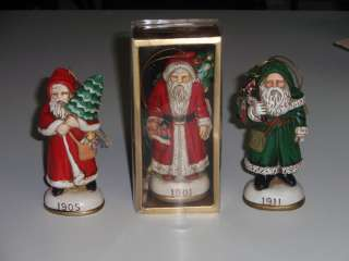 MEMORIES OF SANTA COLLECTION DETAILED CHRISTMAS TREE ORNAMENTS