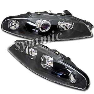 Eclipse Headlights Black Halo Pro Headlights 1997 1998 1999 97 98 99