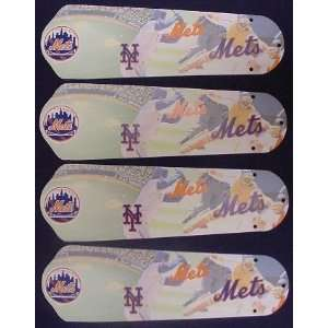 Ceiling Fan Designers 42SET MLB NYM MLB York Mets Baseball
