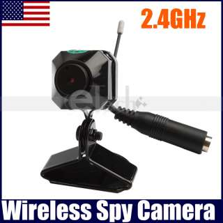 4GHz Wireless Mini Color CCTV Security Spy Camera @US