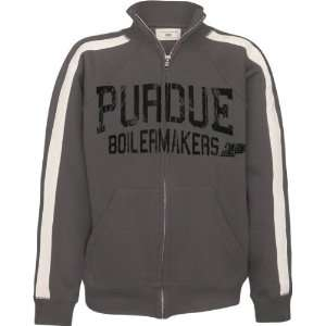 Purdue Boilermakers Youth Charcoal Track Jacket