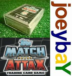 COMPLETE YOUR MATCH ATTAX CARDS 11/12 COLLECTION  CHOOSE FULL SET