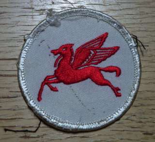 OIL PEGASUS HORSE PATCH BADGE HOT ROD DRAG RACE JACKET GAS STATION OLD