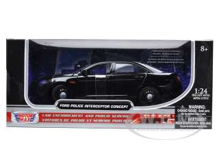 new 124 scale diecast model of Ford Police Interceptor Concept Car