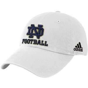 adidas Notre Dame Fighting Irish White Slouch Hat Sports